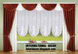 White And Green Curtains Designs Top Catalog Of Classic Curtains Designs Models Colors In 2016