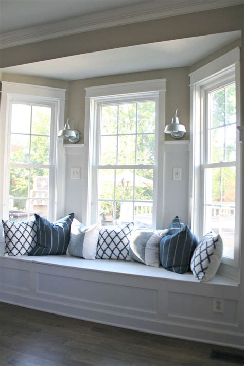 bay window pillows bay window seat living room pinterest window