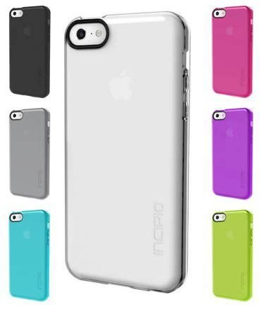 Incipio Feather Iphone 5c Grey 1 apple iphone 5c clear feather pink purple smoke turquoise