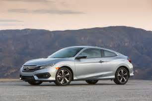 Honda Civic Coupe 2017 Civic Sedan And Coupe Turbocharged And Paired With 6