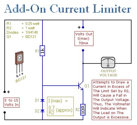 current limiting diode digikey an add on current limiter for your power supply