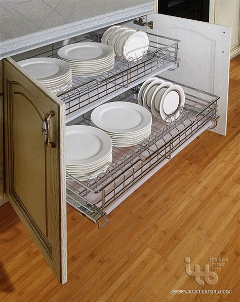 Rack Kitchen Cabinet Dish Racks Modern Dish Racks Other Metro By Itb Kitchen Wardrobe Manufacturer