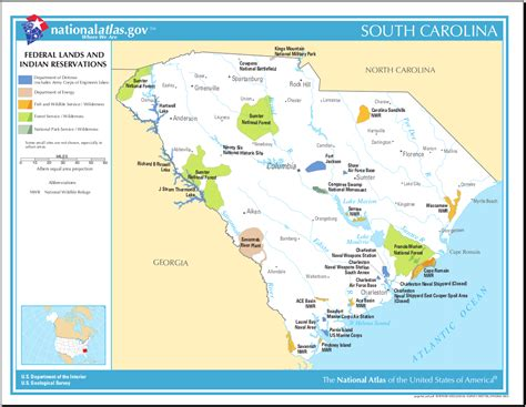 indian reservations usa map map of south carolina map federal lands and indian