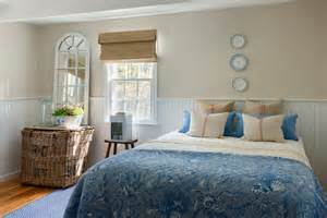 coastal style bedding beach style bedroom by kelly mcguill home master