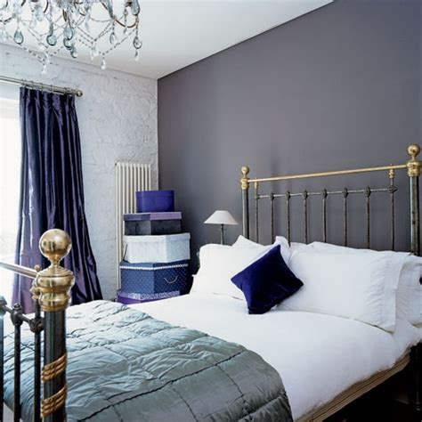 Blue And Gray Bedrooms by Blue Purple Gray Bedroom House It