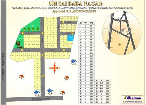 layout approval guduvanchery dtcp approved plots for sale low budget