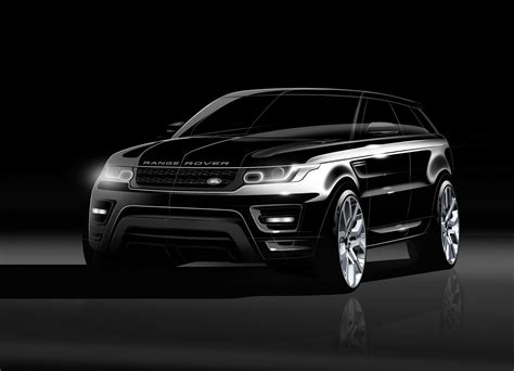 range rover sport concept new range rover sport sketches and renderings