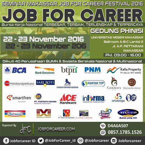 ace hardware festival citylink bandung makassar national job for career festival november 2016