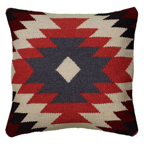 Southwestern Throw Pillows For by Rizzy Home Woven Southwestern Bullseye Pattern Decorative