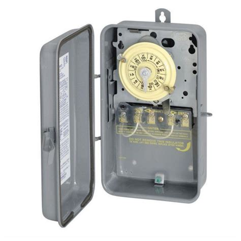 outdoor light timer intermatic outdoor light lighting pool timer