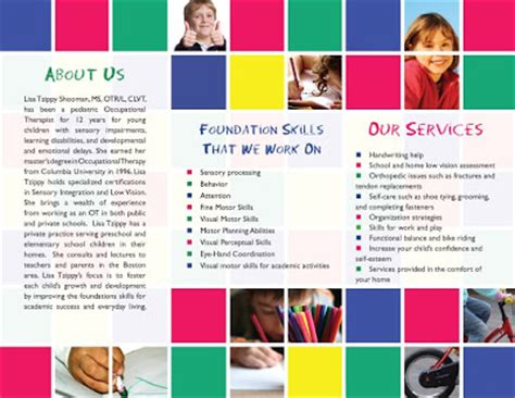 therapy brochure templates ll design function therapy brochures letterhead