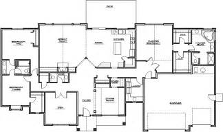 Rambler Floor Plan by Rambler House Plans Images