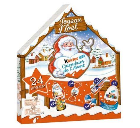Calendrier De L Avent Kinder Belgique Calendrier De L Avent Kinder 2016 Moins Cher Auchan