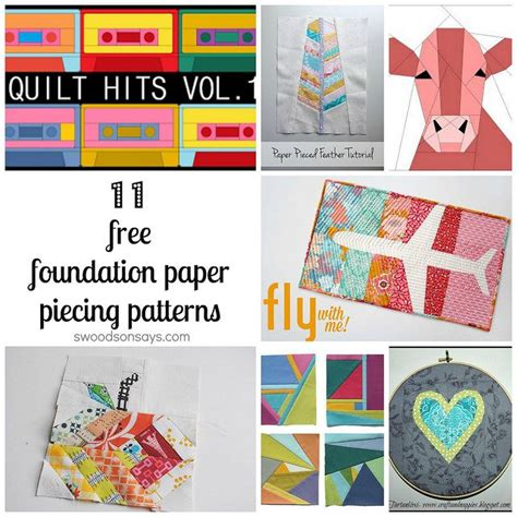 Foundation Patchwork Patterns Free - 157 best images about paper piecing on free
