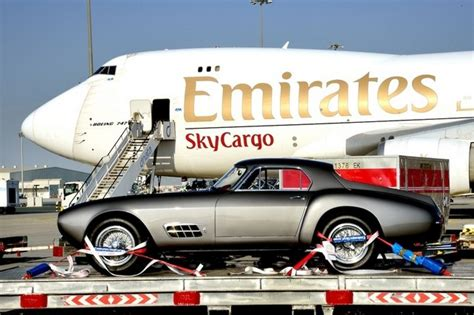 emirates skywheels luxury car service takes flight transport air cargo air freight
