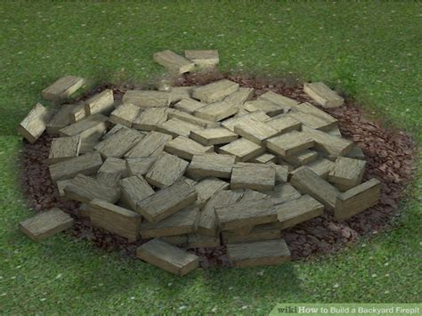 how to start a in a firepit 4 ways to build a backyard firepit wikihow