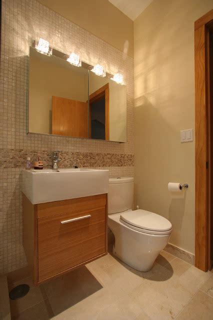 guest bathroom contemporary bathroom chicago by lincoln square bathroom contemporary bathroom