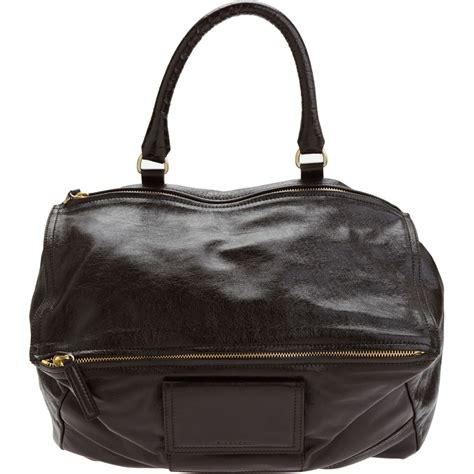Givency Mesenggery givenchy pandora billy messenger bag in brown lyst