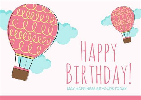 happy late birthday card template customize 884 birthday card templates canva