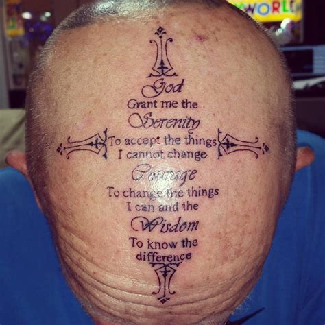 wisdom tattoo designs 55 inspiring serenity prayer designs serenity