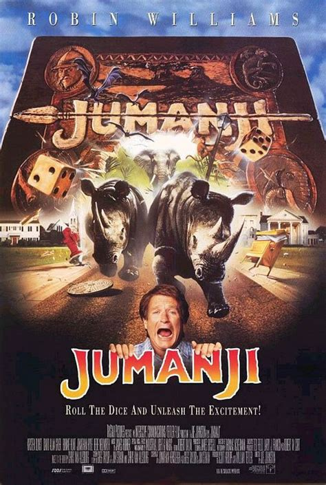 jumanji movie poster vagebond s movie screenshots jumanji 1995
