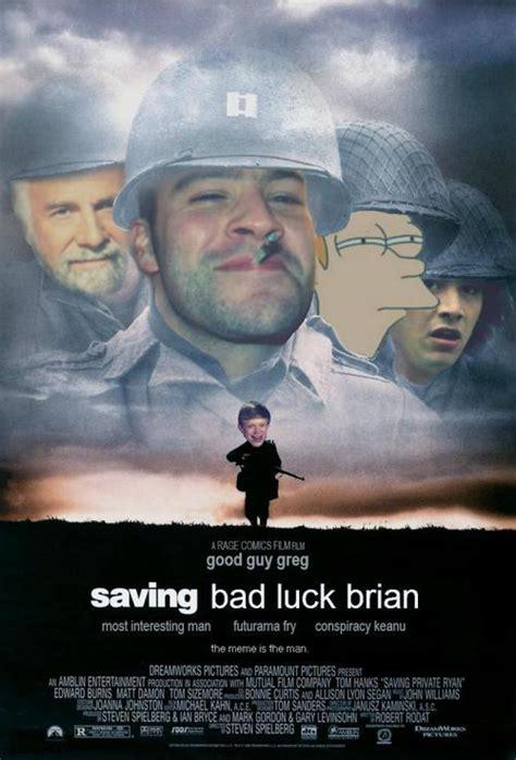 Bad News Brian Meme - classic brian at the beach adviceanimals
