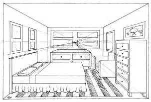 one point perspective bedroom bedroom 1 point by madhavi on deviantart