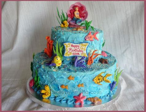 Ariel Cake Decorations by 400px