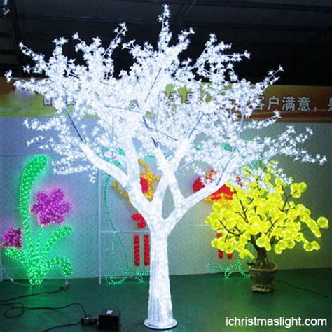 led tree led lighted clear acrylic tree ichristmaslight