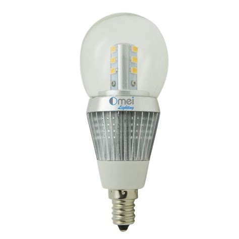 Omailighting Chandelier Led Bulb E12 Candelabra Base Light 4000k Led Light Bulb