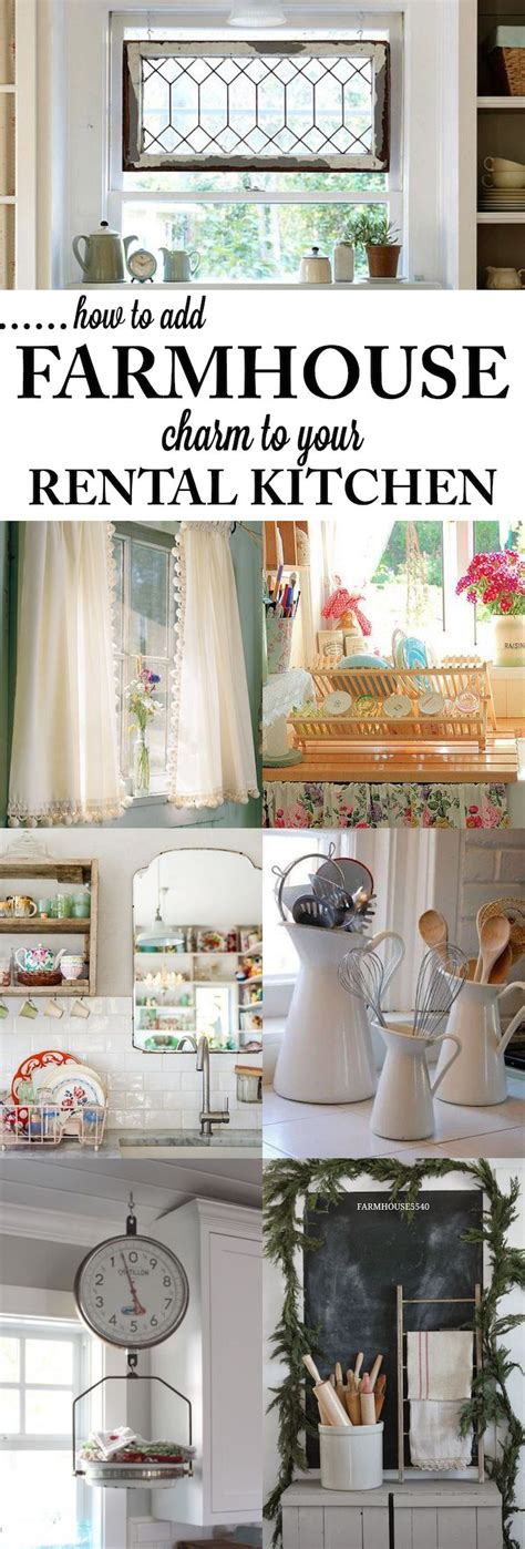 diy rental 12 diy cheap and easy ideas to upgrade your kitchen 6 farmhouse kitchens essentials and kitchens