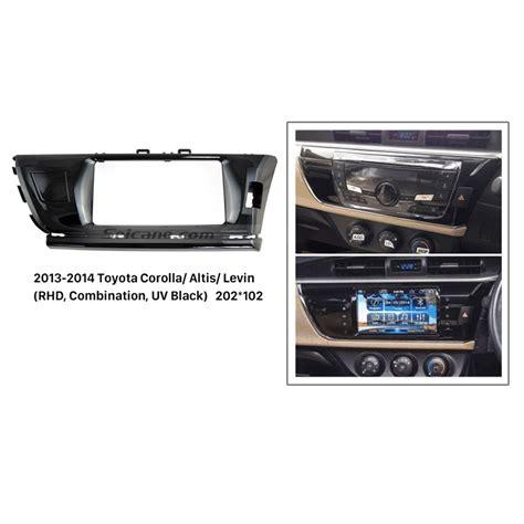combination din car radio fascia for 2013 2014