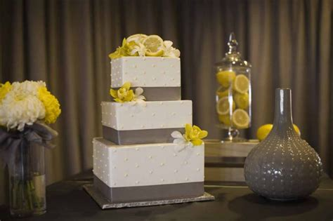 a fresh gray and yellow wedding a affair event design a affair