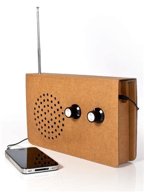 radio reciclable eco friendly card radio gadgetsin
