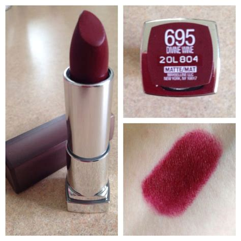 Maybelline Matte Lipstick 25 best ideas about wine lipstick on wine