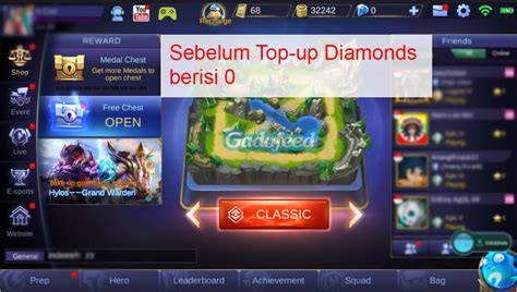 codashop pulsa cara top up diamonds mobile legends di codashop dengan
