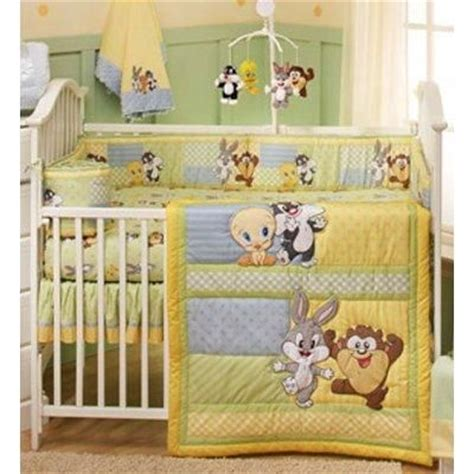 baby looney tunes crib bedding nursery set bugs bunny taz