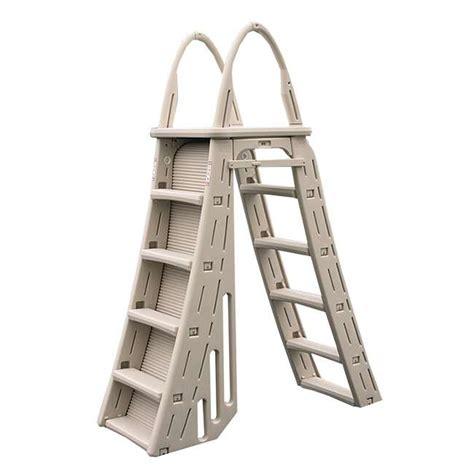 Above Ground Pool Ladder Mat - confer a frame above ground pool ladder and hydro tools