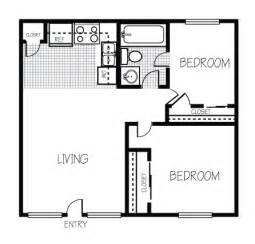 2 bedroom apartment square footage rooms
