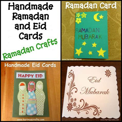 Handmade Eid Cards - karima s crafts eid craft ideas