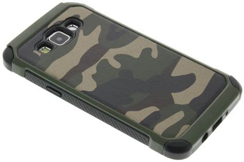 Softcase Army Popsockets Samsung A5 2017 Millitary Samsung A520 army defender hardcase galaxy a5 smartphonehoesjes nl