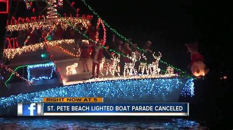 st pete boat parade 2017 st pete beach and south pasadena lighted boat parade