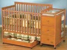 simplicity convertible crib n changer combo