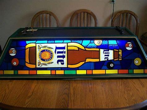 miller light pool table light miller high vintage pool table light