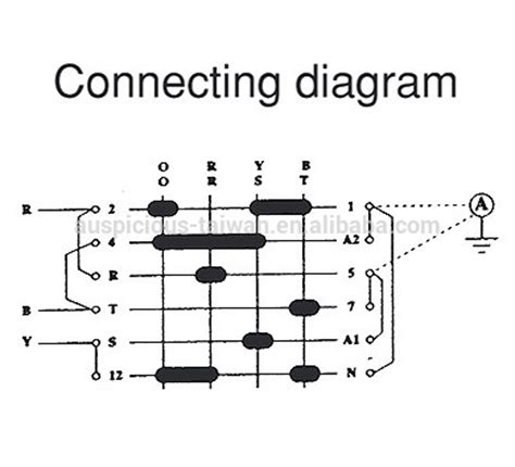 rotary selector switch wiring diagram rotary coil wiring