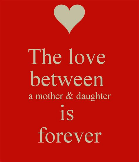 images of love of mother and daughter the love between a mother daughter is forever poster