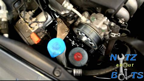 honda accord serpentine belt replacement youtube