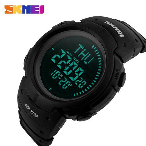 Jam Tangan Pria Jam Digital skmei jam tangan digital pria dg1231cm army green