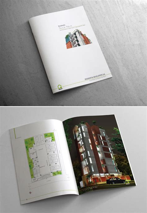 residential layout brochure a collection of effective real estate brochure designs and
