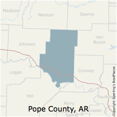 Unemployment Office Russellville Ar by Best Places To Live In Pope County Arkansas